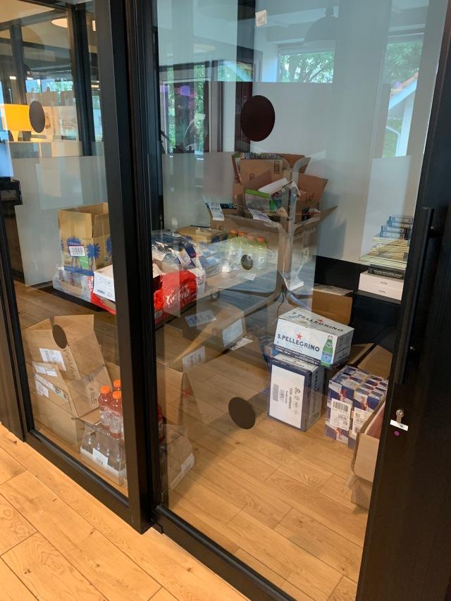 $400/mo snack closet
